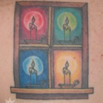 Amish Windows Tattoo