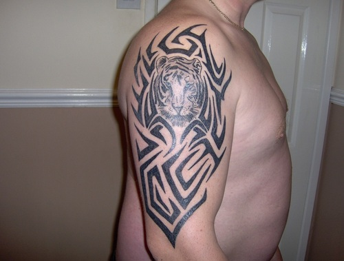 Tribal Tigers Tattoo